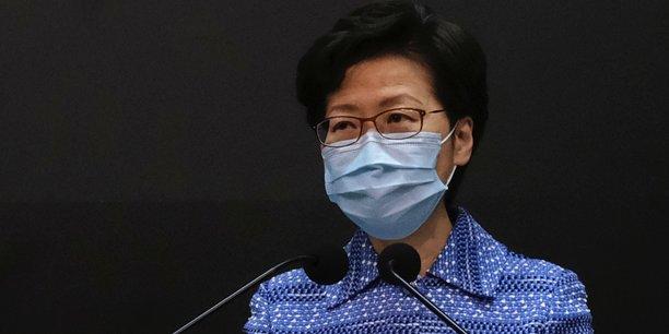 Hong kong: le projet de loi securitaire de pekin ne nuira pas aux libertes, dit lam[reuters.com]