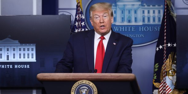 Trump mecontent de la chine sur hong kong, selon la maison blanche[reuters.com]
