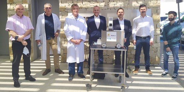 La commercialisation du robot décontaminant ReCOVery sera lancée au cours du mois de juillet.