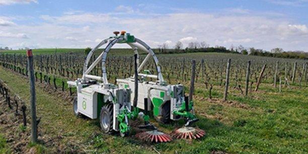Le robot Ted vient d'être retenu par l'Institut Français de la Vigne et du Vin (IFV) pour être intégré dans les expérimentations menées dans le cadre des fermes DEPHY-EXPE.