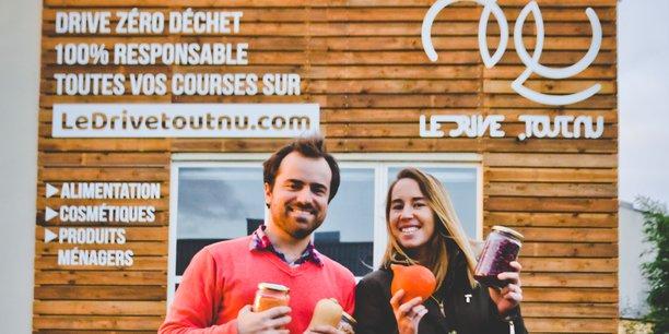Une douzaine d'établissements Le Drive tout nu devraient voir le jour en France.