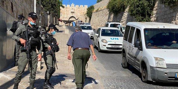 La police israelienne abat un palestinien non arme a jerusalem, rapportent des medias[reuters.com]