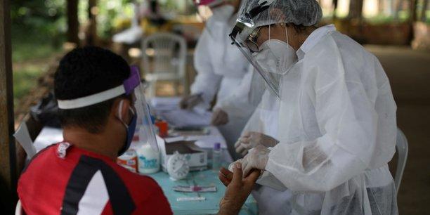 Coronavirus: le nombre de cas de contamination approche les 500.000 au bresil[reuters.com]