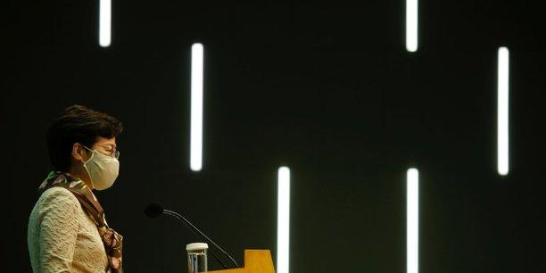 Hong kong: lam denonce le double langage de gouvernements etrangers[reuters.com]