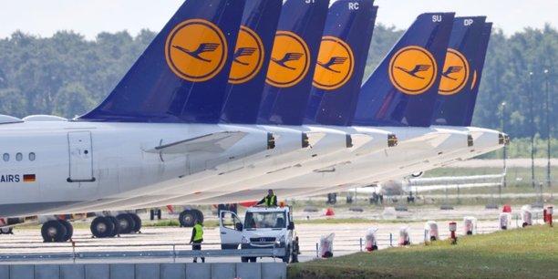 Lufthansa, a suivre a la bourse de francfort[reuters.com]