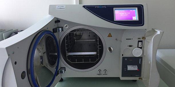 A Montpellier, STEAM France est spécialisée dans la désinfection et la stérilisation de matériel médical.