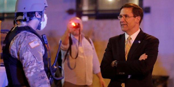 Usa: le pentagone exclut de recourir a l'armee face aux manifestations[reuters.com]