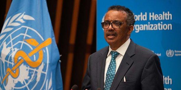 Le directeur général de l'Organisation mondiale de la santé (OMS), Tedros Adhanom Ghebreyesus, lors de la 73e Assemblée mondiale de la santé au siège de l'OMS, le 18 mai 2020. à Genève.