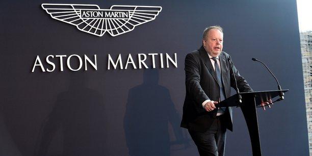 La semaine dernière, Aston Martin avait annoncé le départ de son directeur général Andy Palmer (en photo), qui avait piloté l'entrée en Bourse fin 2018, remplacé par Tobias Moers, actuel patron de Mercedes-AMG, division de bolides de course de Daimler.