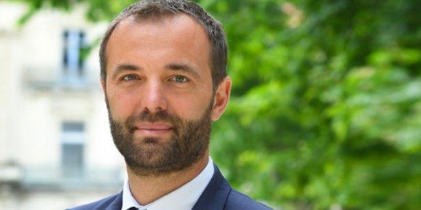 Michael Delafosse, candidat (PS-PCF-EELV) aux municipales de Montpellier.