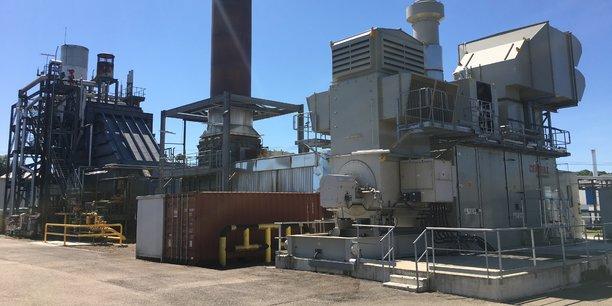 La centrale de cogénération de Smurfit Kappa sera modernisée pour accueillir la turbine à hydrogène.