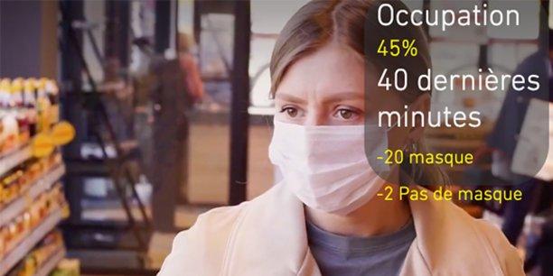 Avec sa solution SafeAccess, RealValue contrôle le port du masque à l'entrée des bâtiments.