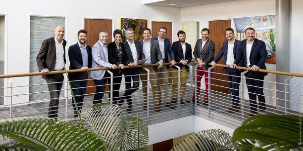 Le cabinet d'expertise-comptable bordelais Extencia (sur notre photo les dirigeants associés) veut se développer dans toute la Nouvelle-Aquitaine mais aussi en France.