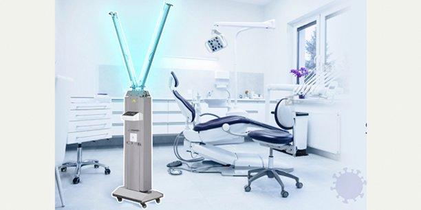 Deliled a conçu des robots de désinfection à UV-C.