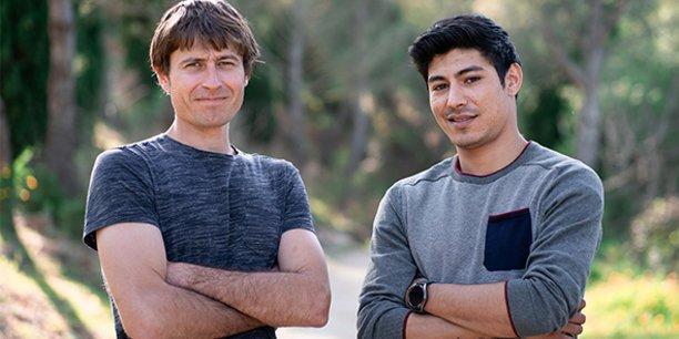 Arnaud Millon et Fabien Hanai, fondateurs de Cérès dans l'Hérault