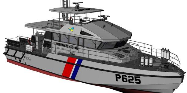 Une des vedettes dessinées par le cabinet d'architecture navale Archi-Delion