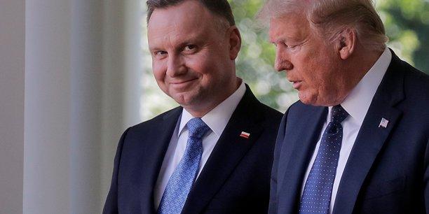 Trump et duda pensent deplacer les troupes us de l'allemagne vers la pologne[reuters.com]