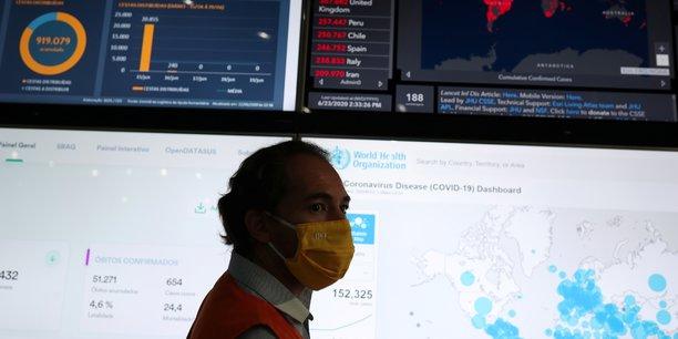 Coronavirus: pres de 1.200 morts en vingt-quatre heures au bresil[reuters.com]