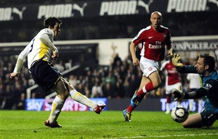 Match Tottenham-Arsenal en 2010