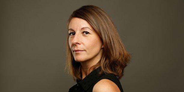 Marie-Ange Gay-Ramos, présidente de la FFB Nouvelle-Aquitaine et directrice générale de la société Etrelec à Blanquefort qui compte 15 salariés.