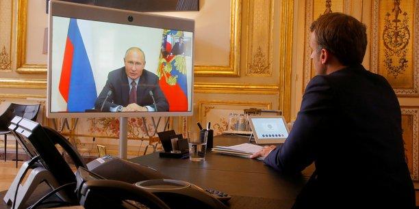 Emmanuel macron se rendra prochainement en russie[reuters.com]