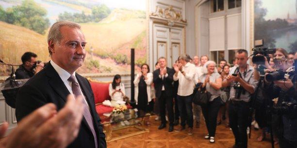 Le camp de Jean-Luc Moudenc, est apparu très soulagé à l'annonce du résultat du second tour des élections municipales à Toulouse, signe que la confiance n'était pas totalement au rendez-vous.