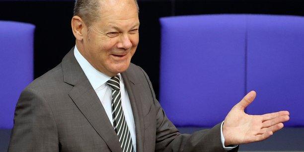 La BCE a prouvé que ses achats étaient proportionnés, assure Olaf Scholz.