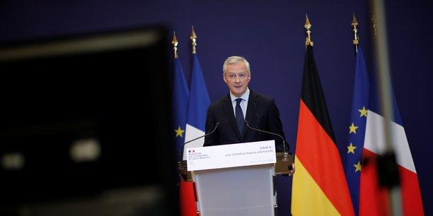 Le plan de relance de l'économie française inclura des éléments de développement dans l'hydrogène dans le cadre d'un partenariat avec l'Allemagne, a déclaré mardi Bruno Le Maire, le ministre de l'Economie et des Finances