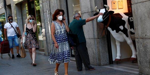 L'espagne recense 99 nouveaux cas de contamination au coronavirus[reuters.com]