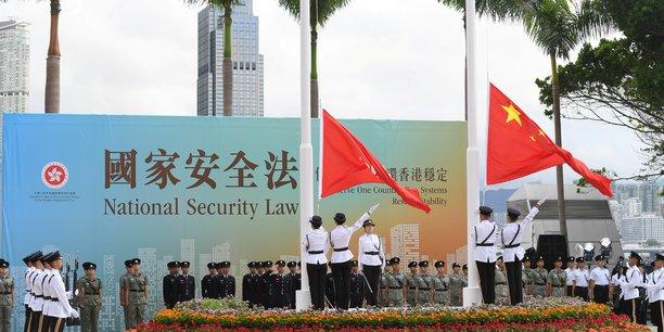 Anniversaire sous surveillance de la retrocession de hong kong a la chine[reuters.com]