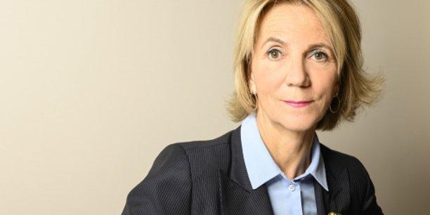 Florence Lustman, présidente de la Fédération française de l'assurance.