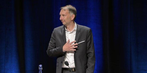 Bruno Bernard s'était porté comme le seul candidat lors de l'installation du conseil métropolitain, ce jeudi, au Centre des Congrès de Lyon.