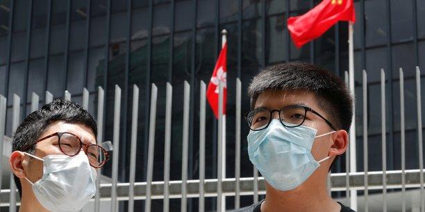 Un militant de hong kong exhorte le monde a s'opposer a la chine[reuters.com]