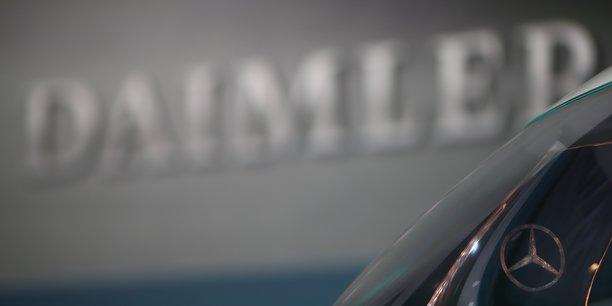 Daimler, a suivre a la bourse de francfort[reuters.com]