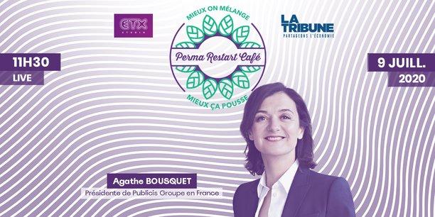 Live - Perma Restart Café avec Agathe Bousquet (Publicis), jeudi 9 juillet à 11h30
