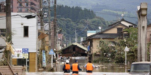 Le japon se prepare a de nouvelles pluies dans le sud[reuters.com]