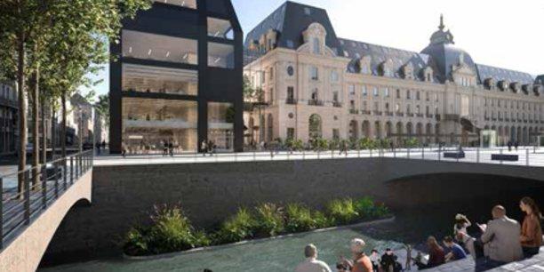 Rennes Palais du Commerce : Citizers groupe FREY (mandataire), ENGIE (promoteur), MVRDV, Bernard Desmoulin (architectes)