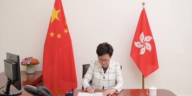 Hong kong: la nouvelle loi de securite est plutot moderee, dit lam[reuters.com]