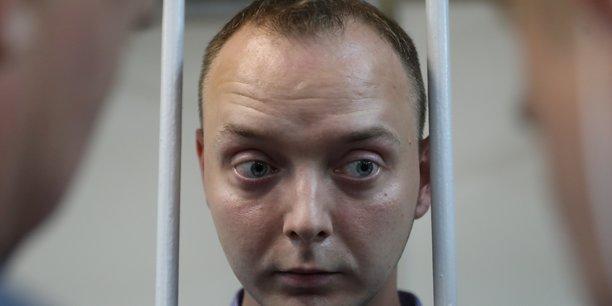 Un ex-journaliste arrete en russie pour espionnage au profit de l'otan[reuters.com]