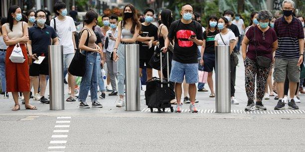 Singapour: contraction de l'economie de plus de 40% au deuxieme trimestre[reuters.com]
