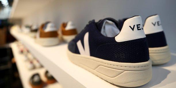 Photo d'illustration de chaussures véganes proposées par la marque française Veja.
