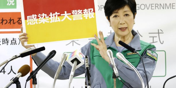 Tokyo en alerte maximale face a l'envolee des cas de coronavirus[reuters.com]
