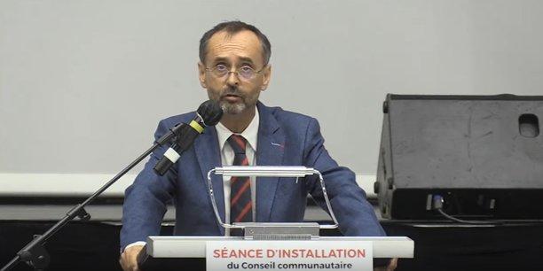 Robert Ménard, élu à l'agglomération de Béziers