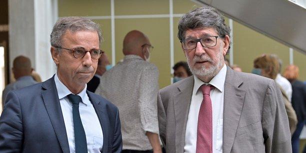 Le maire de Bordeaux Pierre Hurmic sera 1er vice-président en charge du pilotage et de l'évaluation du projet de transition métropolitain aux côtés d'Alain Anziani, maire de Mérignac, élu président de Bordeaux Métropole.