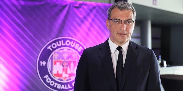 Damien Comolli est le nouveau président du Toulouse Football Club, avec le soutien du fonds américain RedBird Capital Partners.