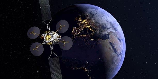 Avec le satellite Konnect d'Eutelsat, Orange pourra offrir à ses clients jusqu'à 100 mégabits par seconde.