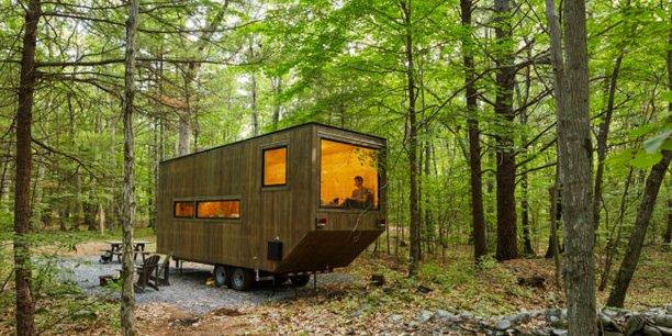Avec ses Tiny House, Bucoli propose un nouveau format d'hébergement pour l'hôtellerie de plein air.