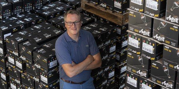 Stéphane Lacourt, le nouveau dg d'Antésite, a repris la marque Antésite en investissant aux côtés du président actuel, Adrien Mollard, mais également du business angel François Lévêque et du dg de Columbus Retail Jérôme Poisson.