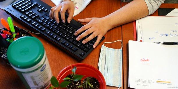 Photo d'illustration. S'agissant de leur activité, une entreprise sur trois a repris ses activités normales.