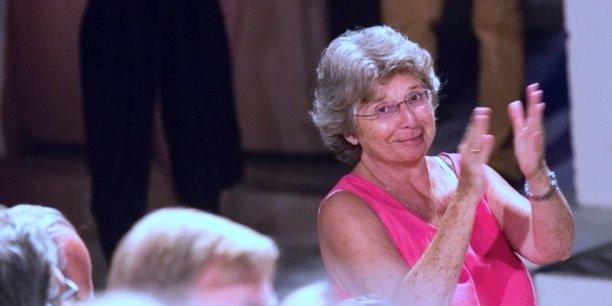 Jacqueline Franjou a fait carrière dans le secteur privé, et a dirigé sept ans durant le Women's forum. [C.BRUNEAU]